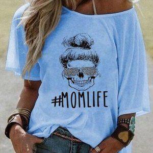 #MOMLIFE Alphabet T-shirt 04